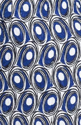 Nordstrom Miss Wu Abstract Print Jacquard Skirt Exclusive) Geometric Swirls Print 10