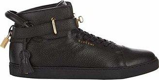 Buscemi Men's 100MM Leather Sneakers - Black
