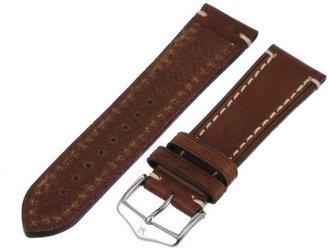 Hirsch 109002-10-24 24 -mm Genuine Calfskin Watch Strap