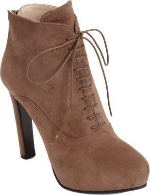 Prada Lace-Up Platform Ankle Boot