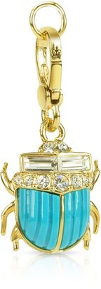 Juicy Couture Blue Scarab Charm