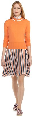 Brooks Brothers Double Layer Circle Skirt