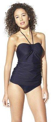 Merona Women's Tankini Swim Top -Navy