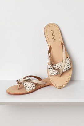 Anthropologie Cynna Lasercut Sandals