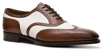 Ralph Lauren Paycen Leather & Suede Wingtip Oxford