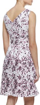 Nanette Lepore Shimmy Floral-Print Sleeveless Dress