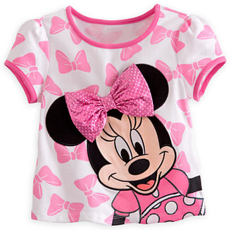 Disney Minnie Mouse Tee and Leggings with Skirt Set for Girls