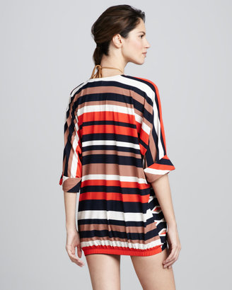 Marc by Marc Jacobs Hayley Striped Coverup