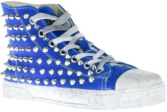 Gienchi high-top studded trainer