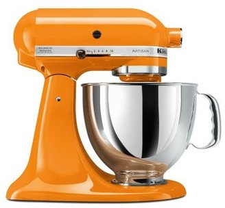 KitchenAid Tangerine Artisan Stand Mixer, 5 qt.