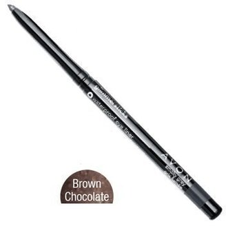 Avon Glimmersticks Waterproof Eye Liner Pencil Chocolate Brown $6.50 thestylecure.com