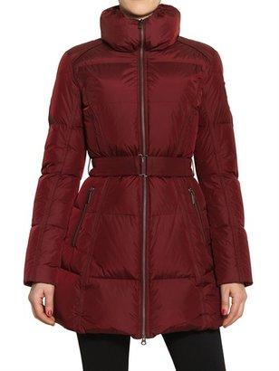 ADD Gloss Nylon Long Down Jacket