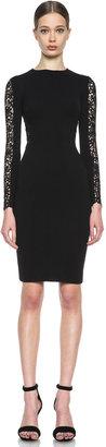 Stella McCartney Lace Knit Dress in Black