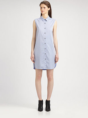 Alexander Wang Poplin Shirtdress