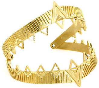 House Of Harlow Claw Cuff in Gold -
