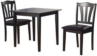 Tms metropolitan 3-pc. dining table and chairs