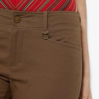 Ralph Lauren Slim Cotton Ankle Pant