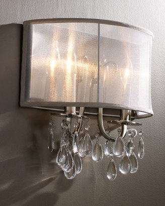 Horchow Shaded Chandelier Sconce