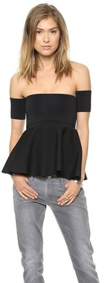 Issa Esther Shoulderless Top