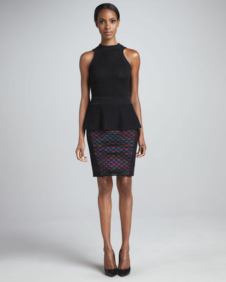 M Missoni Diamond Horizon Pencil Skirt