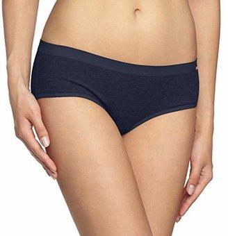 Schiesser Women's Panty Hipster, Grey (grau-Mel. 2)