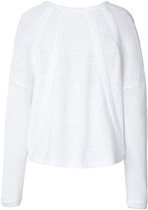 Helmut Lang Cotton Waffle Pullover