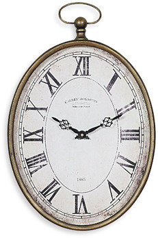 Bed Bath & Beyond Pocket Watch Vertical Wall Clock