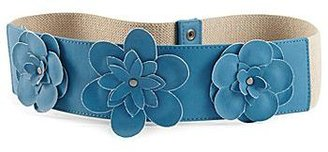 JCPenney Color Craze Womens Belt, Flower Stretch