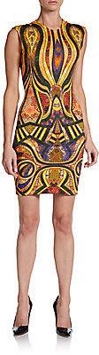 Torn By Ronny Kobo Morgan Printed Sheath Dress