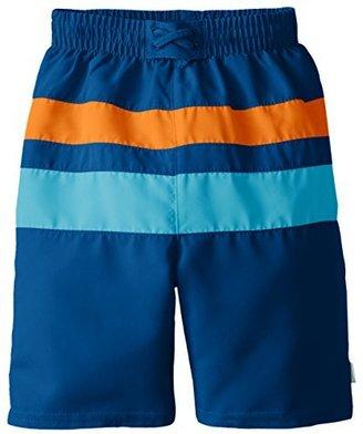 I Play Baby Boys' Ultimate Swim Diaper Block Boardshort UPF 50+