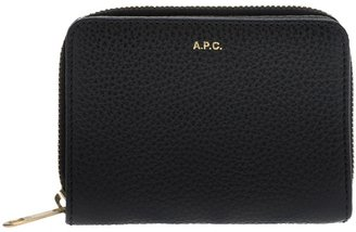 A.P.C. textured leather wallet