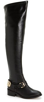 Topshop 'Dazzle' Over the Knee Boot