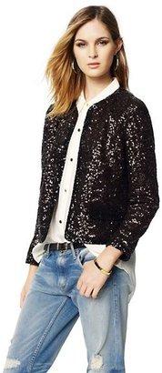 Juicy Couture Mini Sequin Jacket