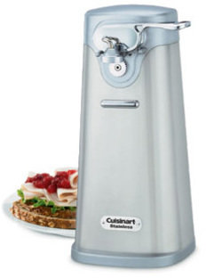 Cuisinart Deluxe Electric Can Opener, Stainless Steel