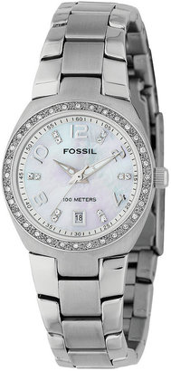 Fossil Women's Stainless Steel Bracelet Watch AM4141 $95 thestylecure.com