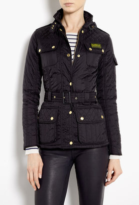 Barbour Milbrook Mixed Quilted Panel Jacket
