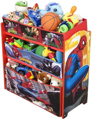 Marvel Spiderman Multi Bin Organizer