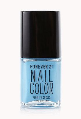 Forever 21 Dusty Blue Nail Polish