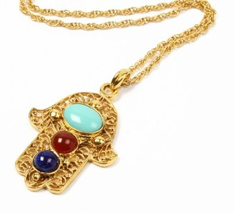 Ben-Amun Long Hamsa Necklace