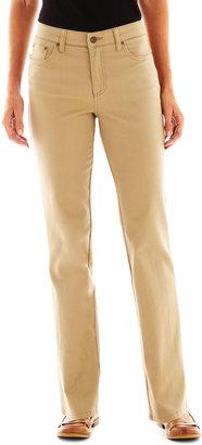 St. John's Bay St. Johns Bay Secretly Slender Twill Pants