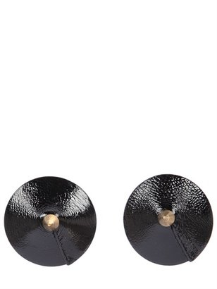 Bordelle Patent Leather Nipplets With Spikes