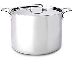 All-Clad Stainless Steel 12-Quart Stock Pot with Lid