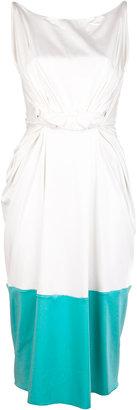 Roksanda Ilincic Riva Cotton Twist Dress