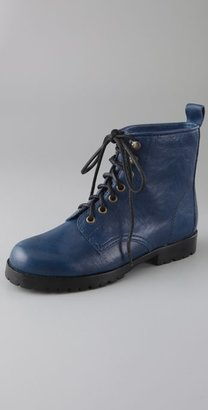 Stacey And Steve Ed Combat Lug Booties