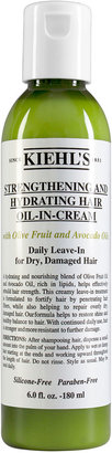 Kiehl's 6 oz. Strengthening and Hydrating Hair Oil-In-Cream