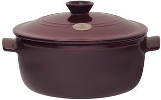 Emile Henry Flame Top Round Dutch Oven/Stew Pot, 5.5 quart