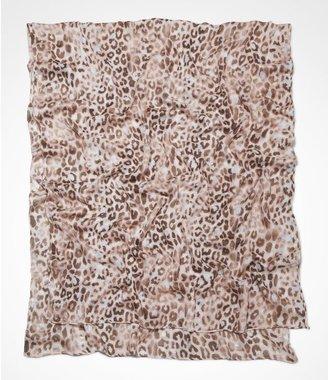 Express Foiled Leopard Oblong Scarf