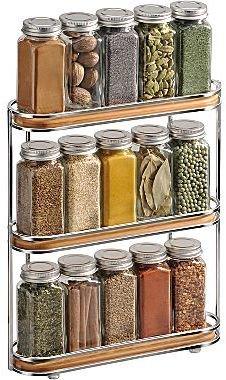 Lynk Bamboo Spice Rack