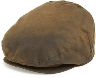 Barbour Waxed Cotton Driving Cap