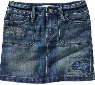 Old Navy Girls Distressed Denim Minis